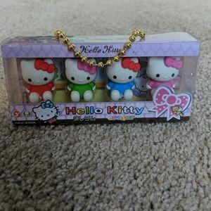 Hello Kitty eraser set